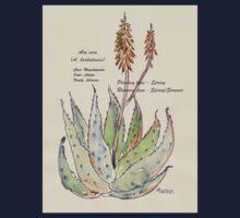 Aloe vera (A. barbadensis) Botanical Kids Tee