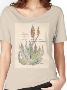 Aloe vera (A. barbadensis) Botanical Women's Relaxed Fit T-Shirt