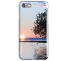 Lake Nipissing Sunset iPhone Case/Skin