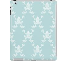 Fabulous Frogs - Aqua iPad Case/Skin