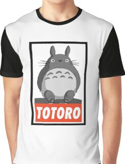 (MANGA) Totoro  Graphic T-Shirt