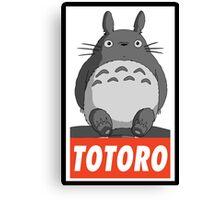 (MANGA) Totoro  Canvas Print