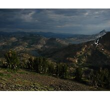 Middle Earth from Dick's Pass, Pacific Crest Trail, CA 2014 Photographic Print