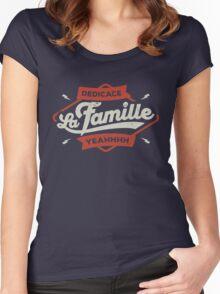 DEDICACE LA FAMILLE Women's Fitted Scoop T-Shirt