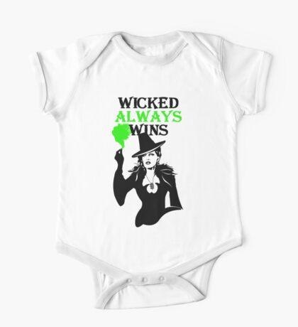 OUAT. Wicked Always Wins. Zelena. One Piece - Short Sleeve