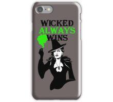 OUAT. Wicked Always Wins. Zelena. iPhone Case/Skin
