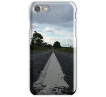 Low-Angle Road iPhone Case/Skin