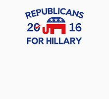Republicans For Hillary Unisex T-Shirt