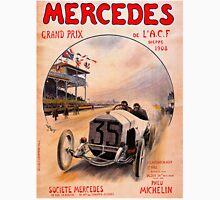 """MERCEDES GRAND PRIX"" Vintage (1908) Advertising Print Unisex T-Shirt"
