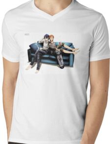 K Project Mens V-Neck T-Shirt