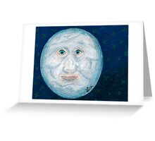 The Alabaster Simpleton (The Moon) Greeting Card