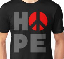 Hope Peace Unisex T-Shirt