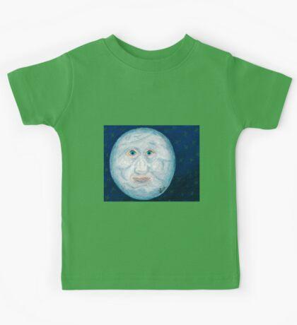 The Alabaster Simpleton (The Moon) Kids Tee