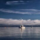 Calm on the Bay by Karine Radcliffe