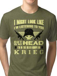 I AM KRIEG - LIMITED EDITION Tri-blend T-Shirt