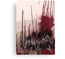 skips two Canvas Print