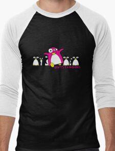 Outstanding Penguin Men's Baseball ¾ T-Shirt