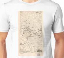 Vintage Map of Washington D.C. (1914) Unisex T-Shirt
