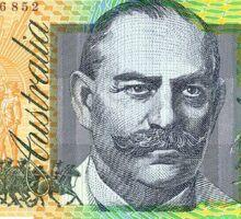 100 Dollar Note (AUSTRALIAN) Sticker