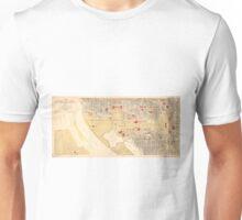 Vintage Map of The Washington D.C. Mall (1917) Unisex T-Shirt