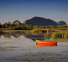 Beside the Ord River by Karine Radcliffe