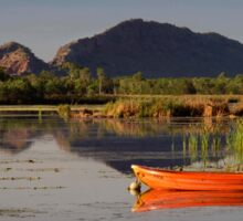 Beside the Ord River Sticker