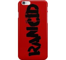 Rancid iPhone Case/Skin