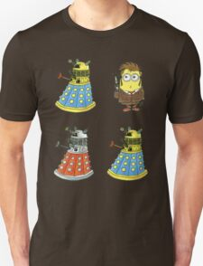 10th Minion Doctor and Daleks Unisex T-Shirt