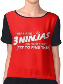 3 Ninjas Chiffon Top