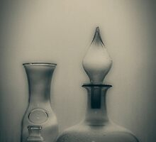 Three Bottles by Linda Lees