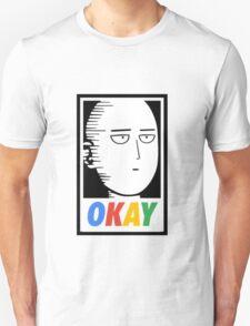 man punch okay Unisex T-Shirt