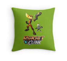 Ratchet & Clank The Movie 2016 Throw Pillow
