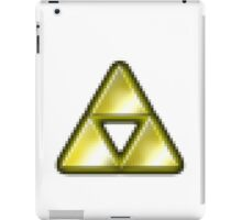 pixel triforce iPad Case/Skin
