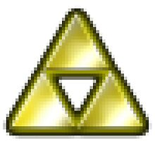 pixel triforce by blocparty83