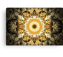 Golden mandala Canvas Print