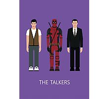 THE...TALKERS Photographic Print