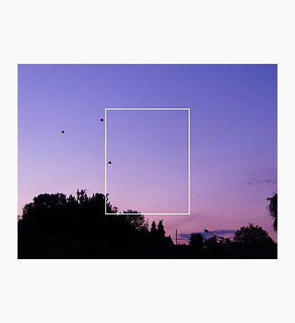 the 1975 pretty sky Photographic Print