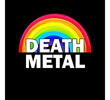 Death Metal Rainbow Photographic Print