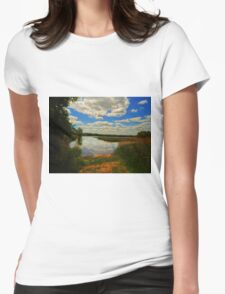 BEAUTIFUL AFTERNOON Womens Fitted T-Shirt