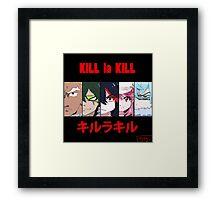 Kill La Kill  Framed Print