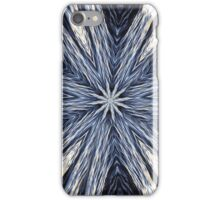 Blue Veil of Liquid Centricity iPhone Case/Skin