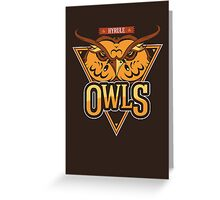Hyrule Owls Greeting Card