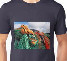 Fishing Gear At The Cobb 2 - Lyme Regis Unisex T-Shirt