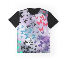 Butterfly Explosion Graphic T-Shirt