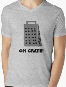 Oh, Grate Mens V-Neck T-Shirt
