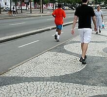 Rio's famous pavements by Maggie Hegarty