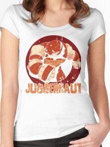 Juggernaut •X-Men Villain  Women's Fitted Scoop T-Shirt