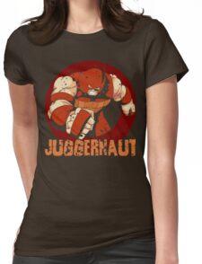Juggernaut •X-Men Villain  Womens Fitted T-Shirt