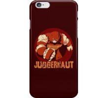 Juggernaut •X-Men Villain  iPhone Case/Skin