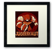 Juggernaut • X-Men Villain  Framed Print